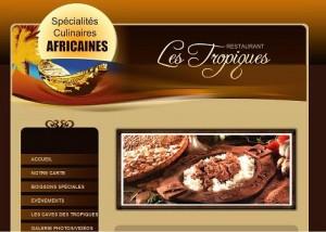 restaurant africain les tropiques de Bruxelles